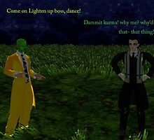 Loki is asked to dance by the mask he thinks mask is an idiot by LokiLaufeysen