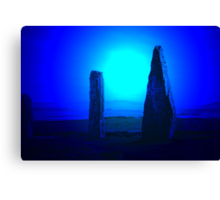 Blue Brodgar Canvas Print