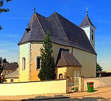 The village church of Sankt Stefan II   architectural photography by Patrick Jobst