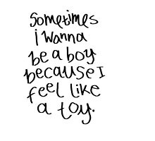 Sometimes I Wanna be a Boy by emmoleigh