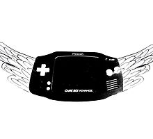 Winged Gameboy Advance by Thomas Shaw