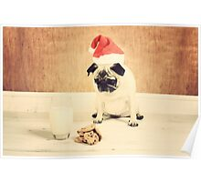 Honey is Santa Poster
