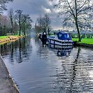 On The Canal Ripon by Trevor Kersley