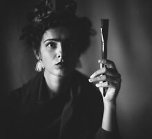 Self-portrait by Agnieszka Gasiorek