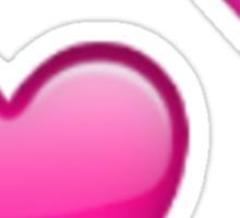 Emoji Two Hearts Sticker
