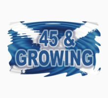 45 & GROWING FREE SCOTLAND Kids Clothes