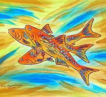 Fish Burst! by Susan Greenwood Lindsay