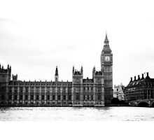 The Palace of Westminster Photographic Print