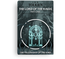 The Lord Of The Rings - The Fellowship Of The Ring Canvas Print