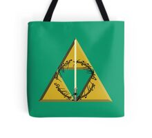 The Geekly Hallows Full Color - The Ultimate Geek T-Shirt Tote Bag