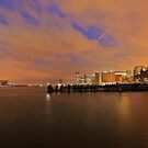 View From Pier A Hoboken NJ by pmarella