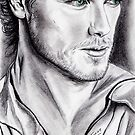Sam Heughan Jamie Fraser Outlander by jos2507