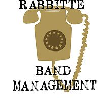 Rabbitte Band Management Ver.2 by stagedoormerch