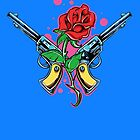 Guns and Rose by tinaodarby