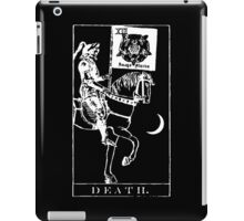Death Tarot XIII iPad Case/Skin