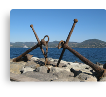 anchor...8000 visualizzaz. settember 2014  - FEATURED RB EXPLORE 28 FEBBRAIO 2012 ---- Canvas Print