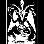 Devil Tarot XV Sticker by Imago-Mortis