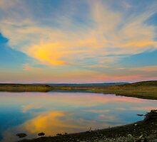 Flaming Gorge Sunset by SusanHamilton