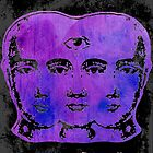 Tricephalous (Feed Your Head) Sticker by Imago-Mortis