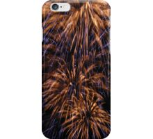 Yellow explosions iPhone Case/Skin
