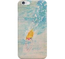 Diving into sea iPhone Case/Skin