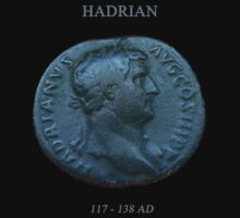 Ancient Roman Coin - EMPEROR HADRIAN by sixstringphonic