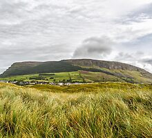 Knocknarea Mountain, Sligo, the north side from Strandhill Beach by Mark Bangert