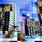 Retro City Tower Tiles by perkinsdesigns