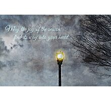 Happy Holidays Greeting Card and Print Photographic Print