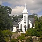St. Brendan's Church,  1000 Islands Rockport, ON Canada by Shulie1