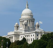 Rhode Island State House by Trish Meyer