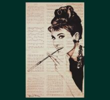 Audrey Hepburn an02 by #Palluch #Art