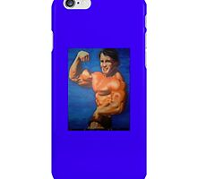 Arnold by WaltCueto Phone Case in Blue by krambra