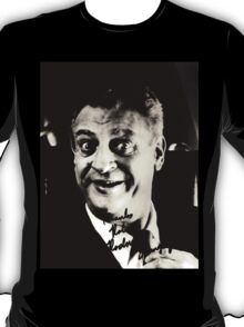 "Rodney Dangerfield Autographed Photo B/W ""Thanks Robert"" T-Shirt"