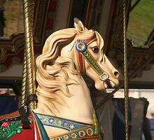 Summer Time - Carousel at the fair by MyDigitalOregon