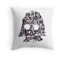 21 Darth Vaders Throw Pillow
