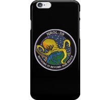 "NROL-39 ""Nothing Is Beyond Our Reach"" iPhone Case/Skin"