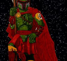 Spartan Fett by Artsworth