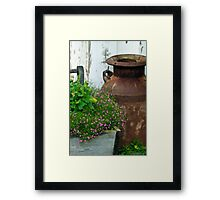Beautifully Rusted Framed Print