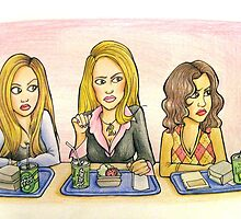 You Can't Sit With Us by Angelinalart