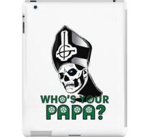 EVIL POPE EMERITUS II - WHO'S YOUR PAPA? iPad Case/Skin