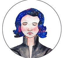 Galaxy Black Widow  by princessraya