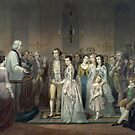 The Wedding of George Washington and Martha Dandridge by Vintage Works