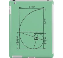 The Golden Spiral iPad Case/Skin