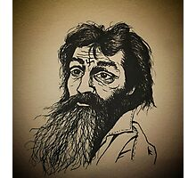 Charles Manson ink drawing Photographic Print