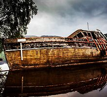 Abandoned on Loch Ness by Claire Walsh