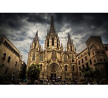 Barcelona Cathedral. Photographic Print