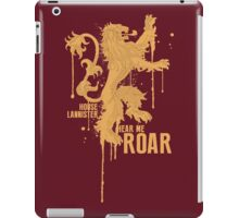House Lannister Game of Thrones Shirt iPad Case/Skin