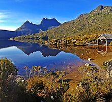Dove Lake Sunrise Panorama by TonyCrehan