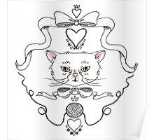 Cat Crest Poster